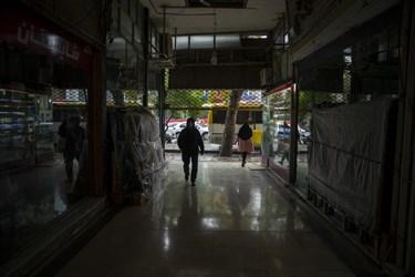 تمکین بازاریان گرگان به محدودیت های کرونایی