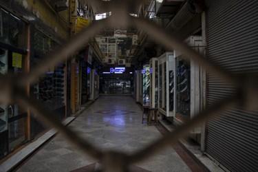 تمکین کسبه خیابان امام خمینی (ره) به محدودیت های اعمال شده