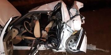 فوت یک نفر در حادثه رانندگی آزادراه تهران قم