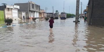 بارش شدید باران در آبپخش/ گذرهای  شهر نیازمند بازنگری