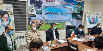 غربالگری ۱۷ هزار نفر در طرح شهید سلیمانی توسط بسیج شهرستان اصلاندوز