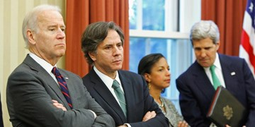 تونی بلینکن وزیر خارجه و جیک سالیوان مشاور امنیت ملی احتمالی بایدن