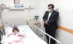 هزینه درمان دانشآموز نیازمند و محروم عشایری در کرمان تأمین شد