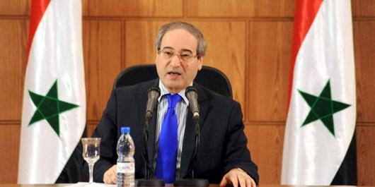 تماس تلفنی فیصل المقداد با ظریف/ وزیر خارجه سوریه ترور شهید فخری زاده را محکوم کرد