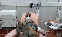 بانوی رکورددار اهدای خون: ۱۸۷ بار خون دادم