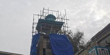 آغاز مرمت ساعت قدیمی تهران در مسجد تاریخی مشیر السلطنه