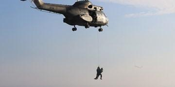 عکس| تمرین نظامی مشترک ارتش لبنان و آمریکا