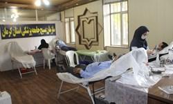 پنجمین روز هفته بسیج در کرمان؛ پویش «نذر خون» بسیجیان و برپایی ایستگاه سلامت