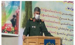 پروژه آبرسانی روستای بهارستان«چوار» توسط سپاه افتتاح شد