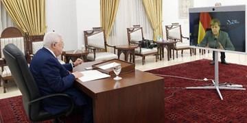 گفتوگوی ویدئو کنفرانسی «محمود عباس» و صدراعظم آلمان