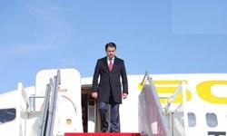 سفر رئیس پارلمان تاجیکستان به روسیه