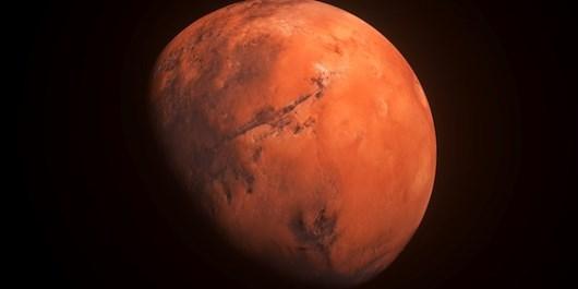نخستین تصویر تمام رنگی استقامت از سیاره سرخ