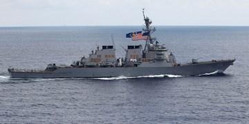 تقابل کشتی جنگی روسی با ناو آمریکایی در خلیج پتر کبیر