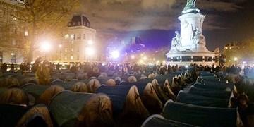 پلیس فرانسه اردوگاه پناهجویان را با گاز اشکآور تخلیه کرد
