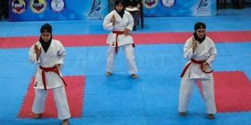 دختران خردسال و نونهال کاراته بافق در مسیر پیشرفت