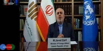 کنفرانس ژنو| ظریف: ایران به مذاکرات صلح افغانستان کمک میکند