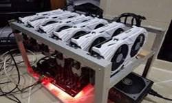 کشف 32 دستگاه استخراج ار ز دیجیتال  توسط مرزبانان هنگ درگز