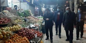 حضور شبانگاهی استاندار کهگیلویه و بویراحمد در بازار یاسوج