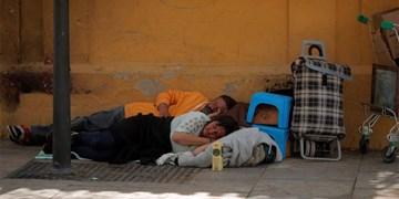 افزایش ۷۰ درصدی بیخانمانها در اتحادیه اروپا