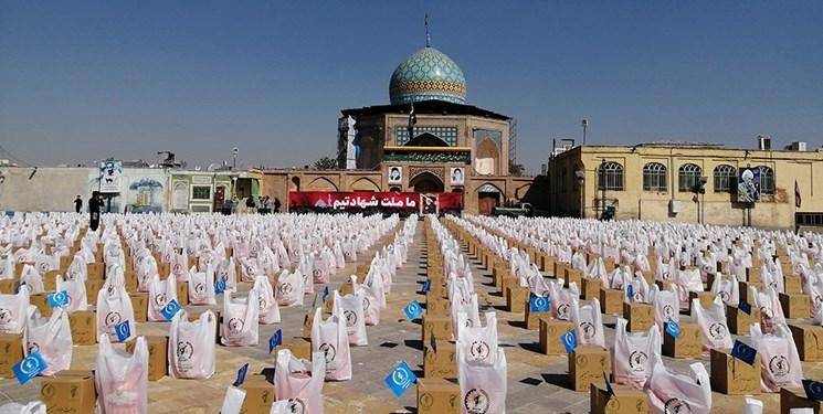 کمک مؤمنانه  توزیع ۲۰هزار بسته معیشتی به مناسبت هفته بسیج در قزوین