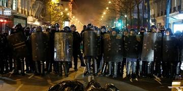 فیلم| اعتراضات پاریسیها به خشونت پلیس فرانسه علیه مهاجران