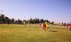 پیروزی تیم شهدای قشقایی در شهرآورد تدارکاتی