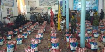 سپاه گنبدکاووس 2100 بسته معیشتی بین نیازمندان توزیع کرد