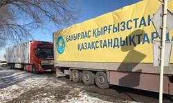قزاقستان 400 دستگاه تنفس مصنوعی به قرقیزستان اهدا کرد