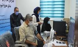 """ویزیت بیماران  مناطق محروم با کمک """"تله مدیسین"""" درگچساران+ تصاویر"""