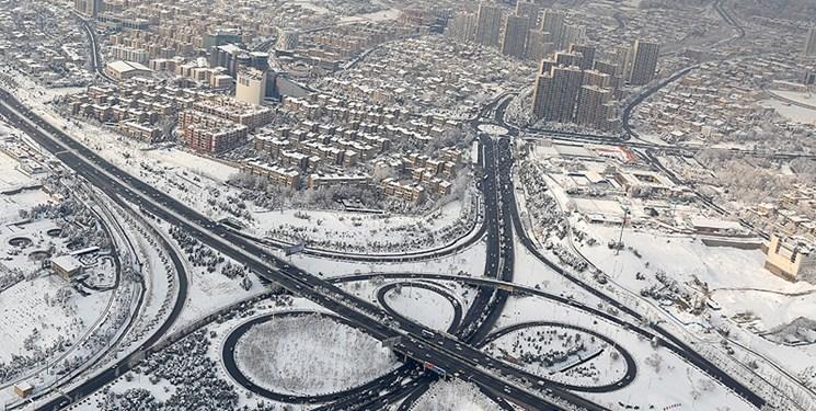 برف و باران از فردا در اغلب شهرها/شب برفی پایتخت با کمینه دمای 4 درجه