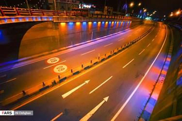 منع تردد شبانه در مراکز استانها