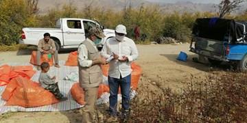 رزمایش هوشمندسازی کشاورزی و اعزام کلینیکهای دامپزشکی به مناطق محروم/ توزیع ۲۵۰۰ بسته معیشتی در داراب