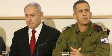 اختلافات عمیق نتانیاهو و رئیس ستاد مشترک ارتش صهیونیستی