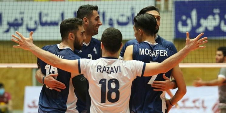 لیگ برتر والیبال| شکستی دیگر برای شهرداری قزوین/ برد بیفایده برای پیکان