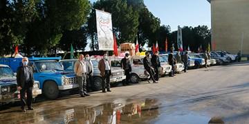 رزمايش خودرویی كمك مومنانه در نوشهر