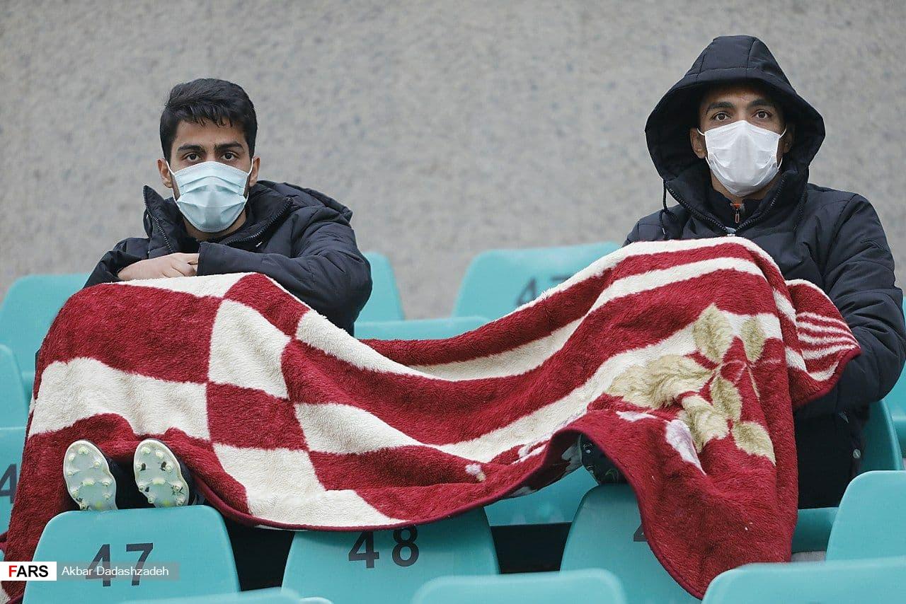 گزارش تصویری از برد سایپا مقابل نساجی مازندران