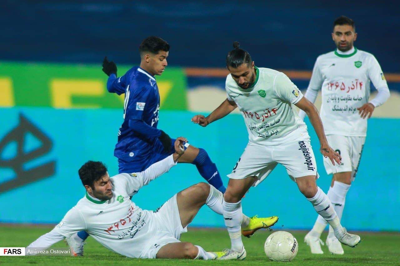گزارش تصویری از برد استقلال مقابل ماشین سازی در ورزشگاه آزادی