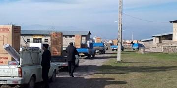 کمک مومنانه| توزیع ۲۵۰ بسته معیشتی در مشگین شهر/۶۲  فقره جهیزیه آسمانی تحویل نوعروسان شد
