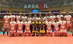 قعرنشینی رعد پدافند هوایی قم در والیبال ایران