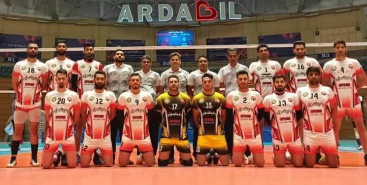 ناکامی والیبالیستهای رعد قم در راه لیگ برتر