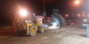رفع گرفتگی خط انتقال فاضلاب خیابان ساحلی یاسوج/ چند توصیه اصولی به شهروندان+فیلم