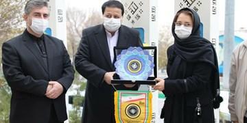 ادای احترام مدیرعامل سپاهان به شهدای تبریز +عکس