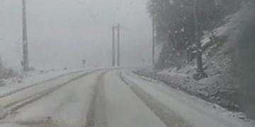 بارش برف و باران در اکثر مناطق استان اردبیل/ هوای سرد ماندگار است