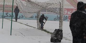 تمرین سبک شاگردان منصوریان در برف یادگار امام +فیلم