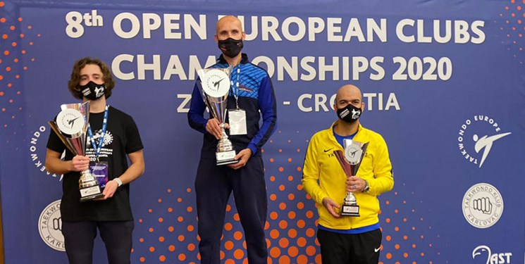 کسب 13 مدال رنگارنگ شاگردان کرمی در جام باشگاههای اروپا / تصاحب مقام سومی در رده سنی امید