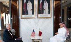 دیدار سرپرست وزارت دفاع آمریکا با مقامات نظامی و دفاعی قطر در دوحه