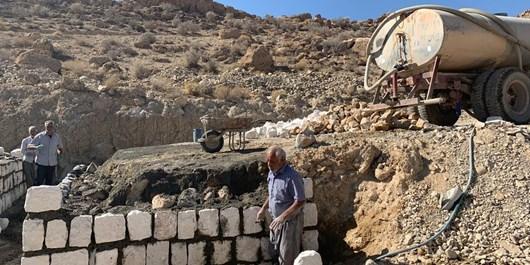 فارس من  روستاهای شهرستان جهرم مشکل آب شرب ندارند
