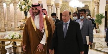 دیدار پرتنش منصورهادی و معاون وزیر دفاع سعودی