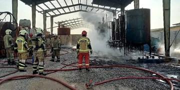 آتشسوزی در کارگاه پارافین عشقآباد/ کارگر ۳۵ساله مصدوم شد