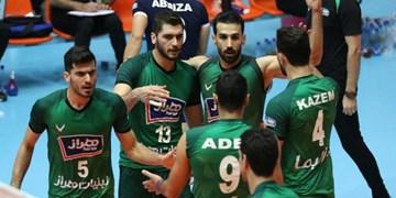 لیگ برتر والیبال| شهرداری قزوین بازهم با آرمات باخت